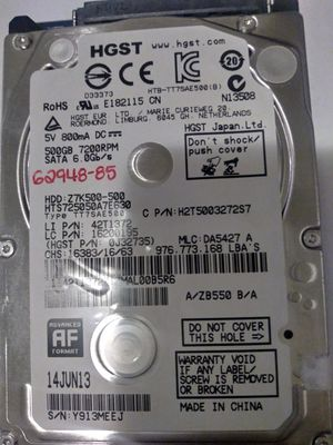 "HGST 2.5"" Hard disk drive 500GB for Sale in Mill Creek, WA"