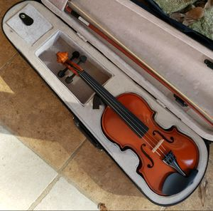 Violin with Case, Rosin, and Bow for Sale in Beaumont, TX