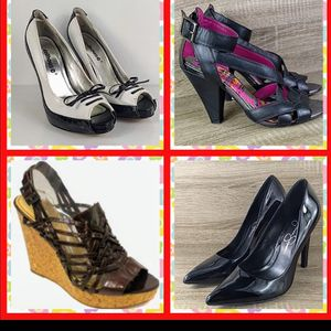 Size 7 woman's shoe bundle reseller lot for Sale in Bonney Lake, WA