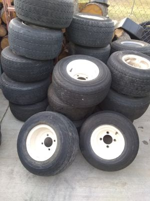 Golf cart tires 4 SALE for Sale in Riverside, CA