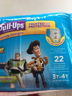 New Huggies Pull UPS Size 3t-4t for Sale in Monterey,  CA