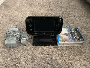 Nintendo Wii U + Wii U Games for Sale in Chandler, AZ