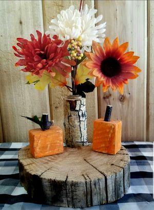 FARMHOUSE MINI WOOD PUMPKINS for Sale in Delta, CO