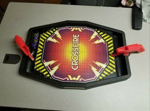 Vintage 1988 Crossfire Game Milton Bradley 26 Steel Balls & 2 Targets/pucks. for Sale in Arvada, CO