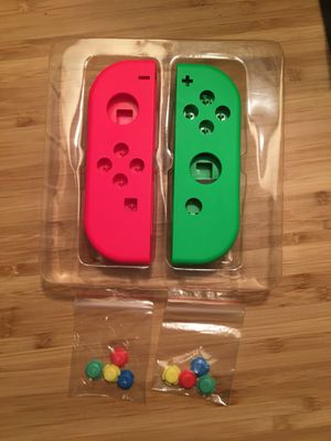 Neon Pink and Green Joy Con Shells Nintendo Switch OEM for Sale in Chicago, IL
