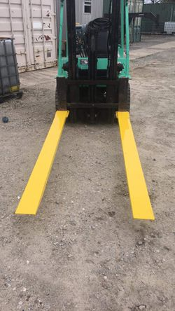 Heavy Duty Forklift Extensions!! Standard are 6 or 8 foot and fit 4-5 inch wide forks. for Sale in Houston,  TX