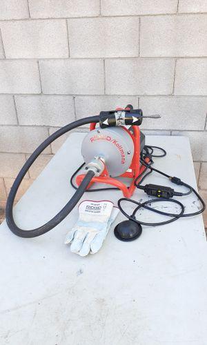 Ridgid K-40 2 way Auto Feed Drain Cleaning Machine Like New for Sale in Phoenix, AZ