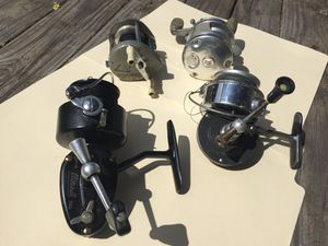 Vintage Fishing Reel Bundle! Garcia,Ocean City, Abu Garcia& Mitchell for Sale in Wailuku, HI