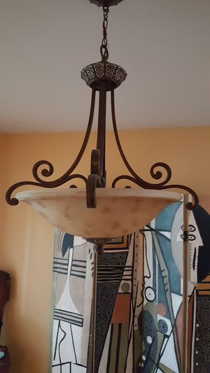 Tuscan style chandelier for Sale in Stanwood, WA