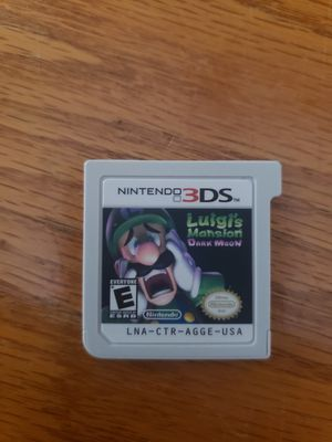 Luigi's Mansion Dark Moon and Classic Games Overload for Nintendo 3DS for Sale in Rushville, IN