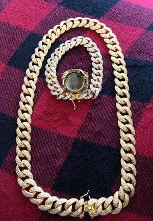 Chain,bracelet,ring for Sale in Houston, TX