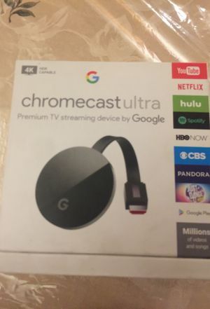 Chromecast ULTRA for Sale in Falls Church, VA