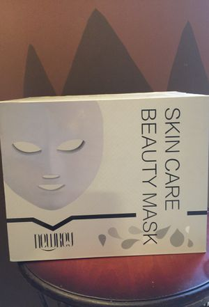 LED light therapy skin care beauty mask for Sale in Taylors, SC