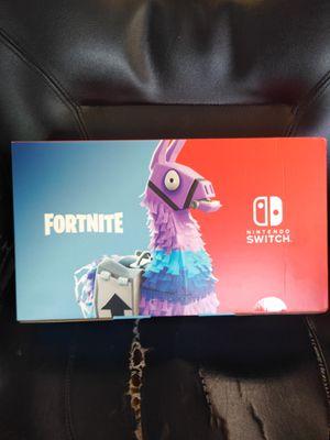 Nintendo switch fortnite Edition for Sale in Dallas, TX
