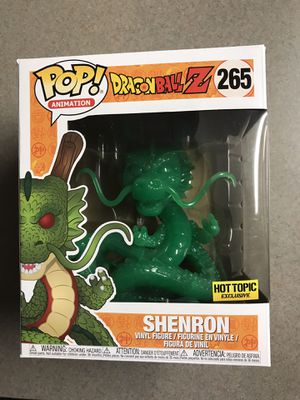 Jade Shenron Funko Pop Hot Topic Exclusive Dragon Ball Z DBZ 265 with protector for Sale in Carrollton, TX