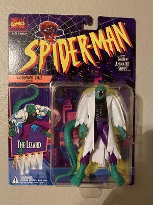 Marvel Spider-Man Animated Series (1995) The Lizard Toy Biz Figure NIP for Sale in Stockton, CA