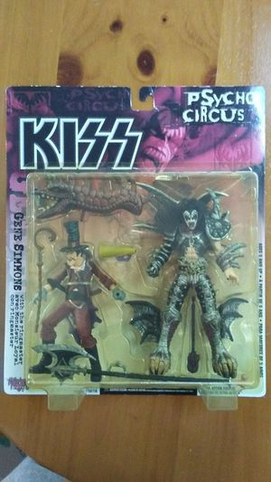 KISS PSYCHO CIRCUS GENE SIMMONS ULTRA ACTION FIGURE, McFarlane Toys collectable. for Sale in Ruston, WA