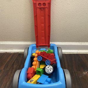 Kids Toy - Mega Blocks Thomas Racin' Railway Wagon Building Set for Sale in Houston, TX