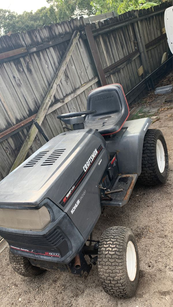 Craftsman tractor