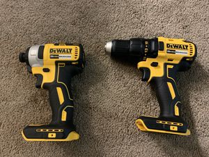Dewalt brushless drill and impact for Sale in Everett, WA