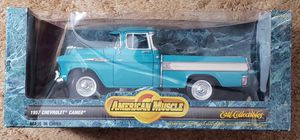 AMERICAN MUSCLE 1957 CHEVY CAMEO 1/18 th SCALE DIECAST MADE BY ERTL for Sale in East Petersburg, PA
