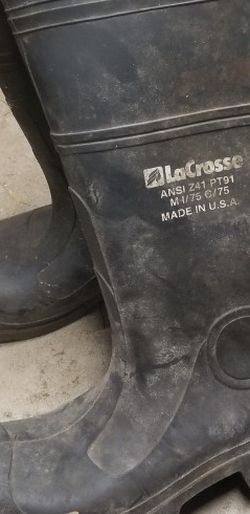 lacrosse steel toe work boots for Sale in Gladstone,  OR