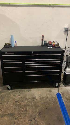 Must go!! Snap-on toolbox for Sale in Woonsocket, RI