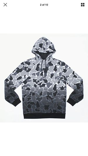 NWT Adidas Grey Camouflage Hoodie Sweatsuit for Sale in Mount Laurel Township, NJ