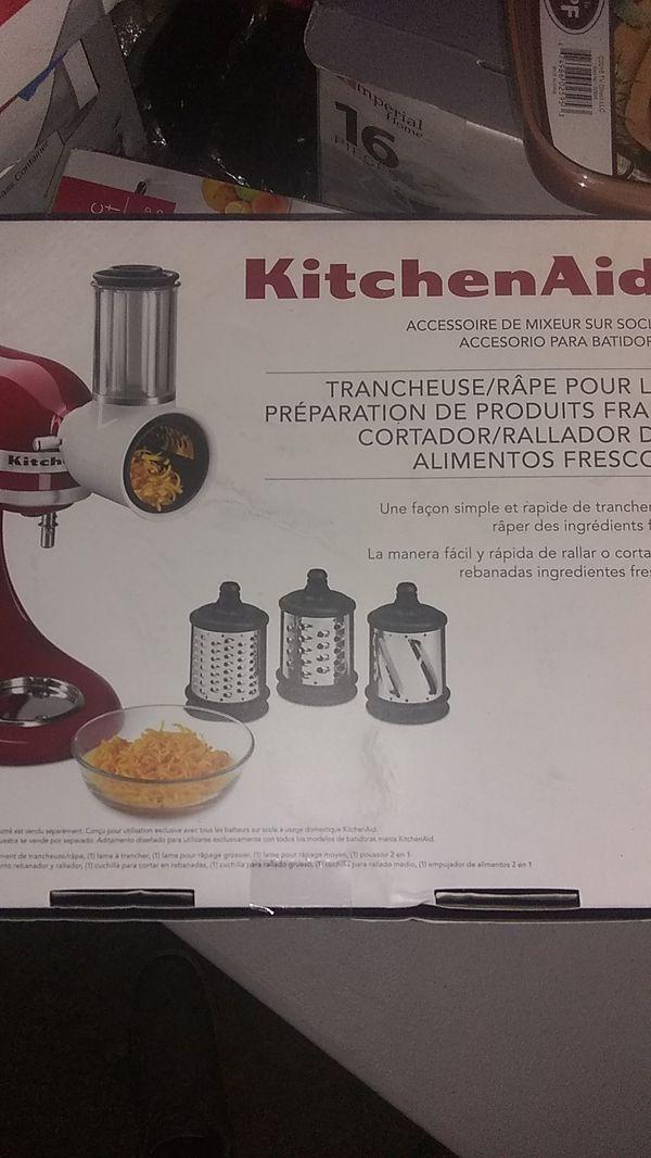 Kitchen aid fresh prep slicer/shredder