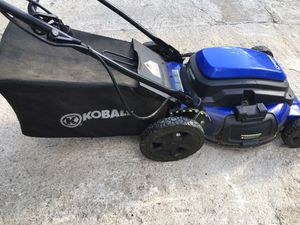 Cobalt lawn mower electric works good for Sale in Kansas City, MO