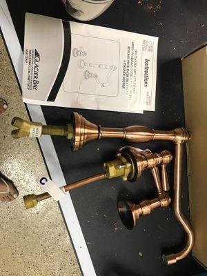 Designer Copper faucet new in box for Sale in Pinetop, AZ