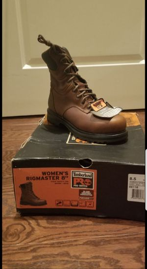Brand new Womens 8.5 Timberland work boots for Sale in Baltimore, MD