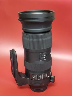 Sigma 60-600mm F4.5-6.3 DG OS HSM Sports Camera Lens for Canon for Sale in San Diego,  CA