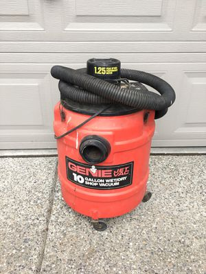 GENIE 10 gal shop vac for Sale in Lake Stevens, WA