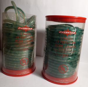 Everstar 2 Pack Of Rope Lights, 48 Ft total for Sale in Houston, TX