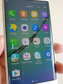 Samsung Galaxy S6 Edge, Unlocked, Budget phone, Open for any SIM Carrier Locally and Internationally for Sale in Springfield,  VA