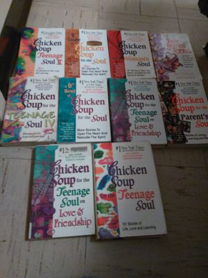 Chicken Soup For The Teenage soul Books. for Sale in Stockton, CA