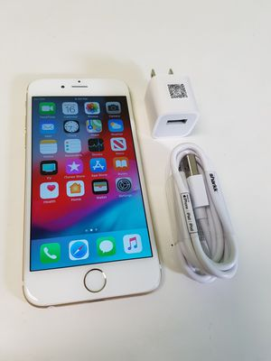 UNLOCKED IPHONE 6 16GB GOLD, (THIS IS NOT THE PLUS) PERFECT CONDITIONS !!! PRICE IS FIRM !!! for Sale in Miramar, FL