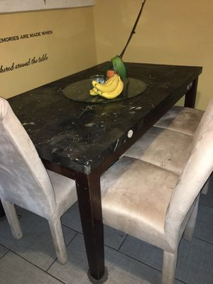 Kitchen table with 4 chairs for Sale in Brockton, MA