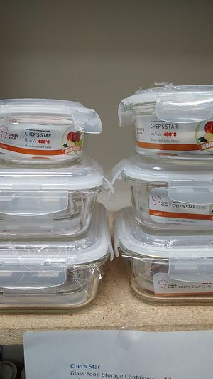 Food storage containers for Sale in Riverside, CA
