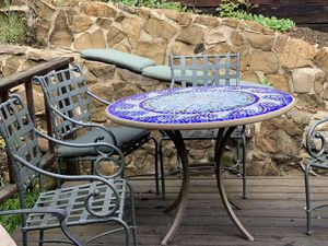 beautiful antique outdoor furniture for Sale in Beverly Hills, CA