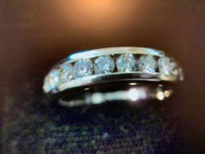 3/4 Carat Diamond Ring Set In 18k White Gold SZ 6 - 6.9 Grams for Sale in Bullard, TX