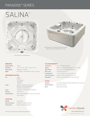 Caldera Salina 7 person hot tub for Sale in Miami, FL