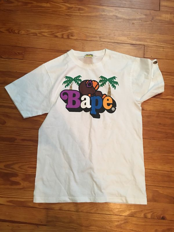 Bape tee shirt summer exclusive