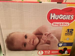 Huggies 1 for Sale in Dallas, TX