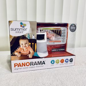 Summer Infant Panorama Digital Color Video Monitor - Must Have 😘 New - Open Box 📦 Deal 👏 for Sale in Boynton Beach, FL