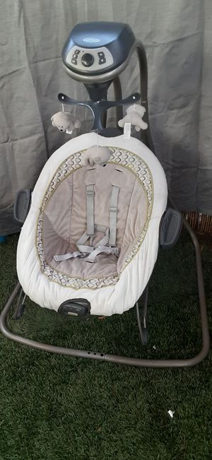 Baby swing/Boucer and pampers para bebé #1 for Sale in Norwalk, CA