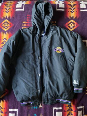 Los Angeles Lakers Starter Parka Jacket from 1990's Lebrun James for Sale in Martinez, CA