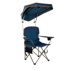 Quik Shade Max Shade Folding Chair - Navy A6-202 for Sale in St. Louis, MO