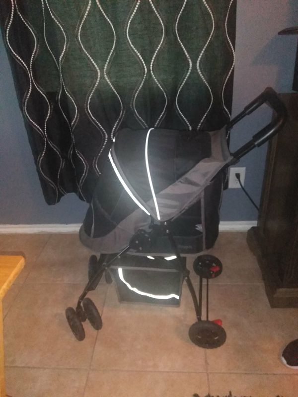 Dog stroller new used 1